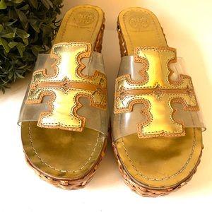 Tory Burch vintage Wedge Sandals